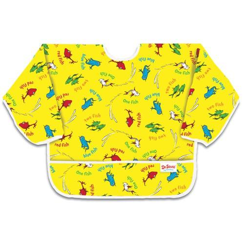 Śliniak z rękawami - Yellow Fish