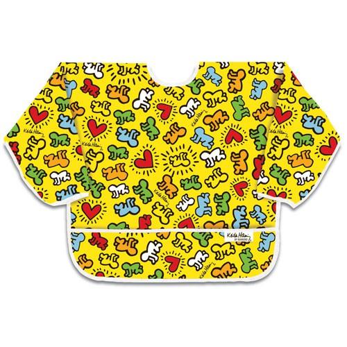 Śliniak z rękawami - Haring Yel Baby