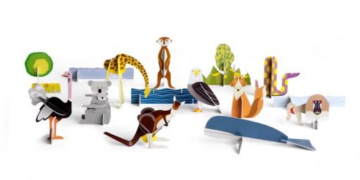 Figurki Totem  Seria Orzeł