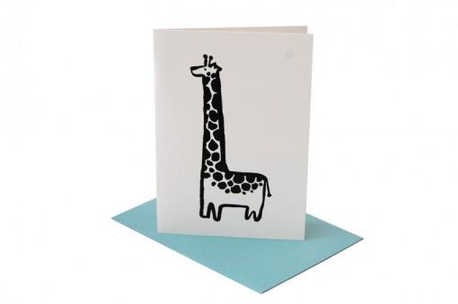 Kartka okolicznościowa Żyrafa