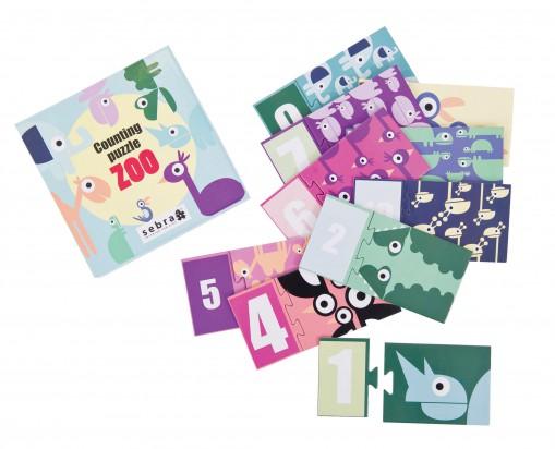 Puzzle cyferki 1-10