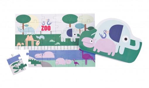 Puzzle Zoo 36 elementów