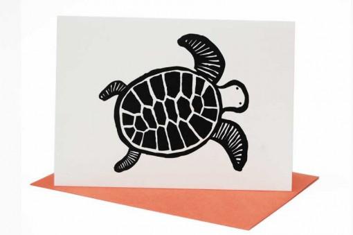 Kartka okolicznościowa Żółw