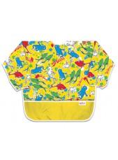 Fartuszek z długim rękawem - Yellow Fish